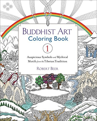 Buddhist Art Coloring Book
