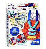 #6: Creative Educational Aids P. Ltd. Cute Sewing Crafts Kit – Monster Handbag , Multi Color