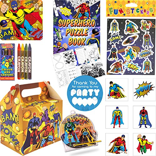 pre-filled-superhero-boys-party-bags-for-children-luxury-birthday-party