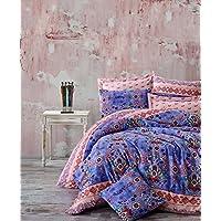 En Vogue Ranforce King Size Quilt Cover Set, Multi- Colour, 240 x 220 cm