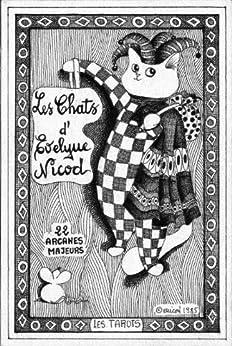 I Tarocchi del gatto in 22 Arcani Maggiori (illustrato) (Italian Edition) by [Nicod, Evelyne]