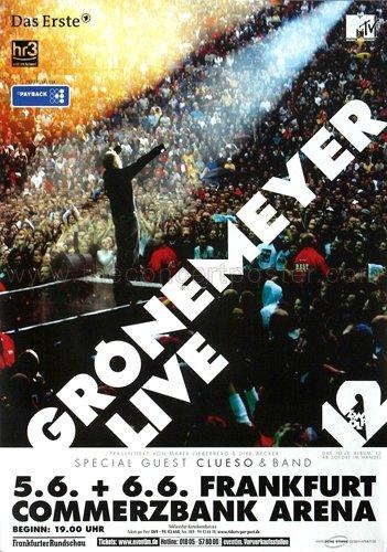 Grönemeyer, Herbert - Live 2007 - Konzertplakat, Konzertposter