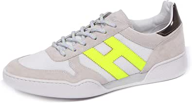 Hogan 1209J Sneaker Uomo Grey/White/Yellow Fluo H357 Scarpe Shoe Man