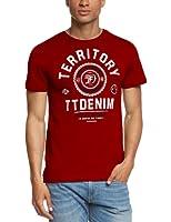 TOM TAILOR Denim - T-Shirt Homme - 2color ci print tee/406 10284920912