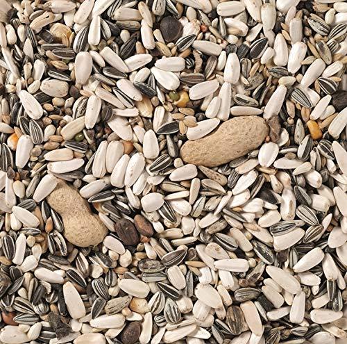 Deli Nature PAPAGEIEN-Futter Basis 15 kg Sack Basismischung mit Erdnüssen