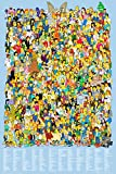 GB eye LTD, The Simpsons, Cast 2012, Maxi Poster, 61 x 91,5 cm