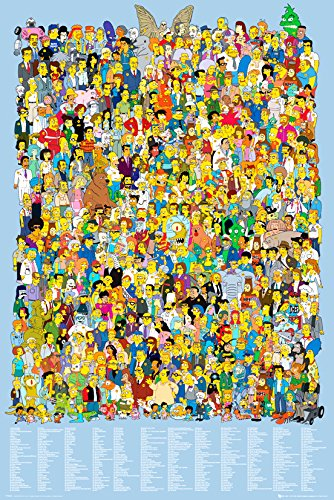 gb-eye-ltd-the-simpsons-cast-2012-maxi-poster-61-x-915-cm
