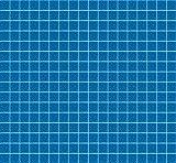 MosaixPro 200g 10x 10x 4mm 302-piece Glas Fliesen, Azure blau
