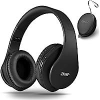 Bluetooth Over Ear Kopfhörer, Zihnic Wireless Faltbares Stereo Headset, Kabelloser Schalldämmung Kopfhörer mit…