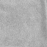 Accappatoio per Bambini, Neonato, Bambina, Ragazzi - Taglia 7-8 Anni (122-128 cm), Grigio - Senza Prodotti Chimici (Oeko Tex), 100% Cotone - Accappatoio Neonato, 2 Tasche, Cappuccio con Orecchie