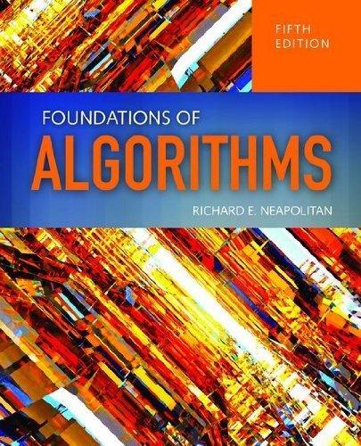 Foundations Of Algorithms by Richard Neapolitan (2014-03-05)