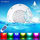 MUMENG Illuminazione Della Piscina Luci LED - LED Per Piscina e Laghetto, Telecomando Impermeabile IP68 per Acquario/Giardino Swimming Pool Fontana Pond Lighting Decorazione