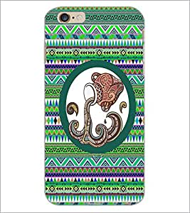 PrintDhaba Tribal Pattern D-3013 Back Case Cover for APPLE IPHONE 6 PLUS (Multi-Coloured)