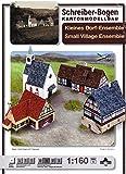 Aue-Verlag 15 x 21 x 12 cm, motivo: villaggio Kit completo» (piccolo)
