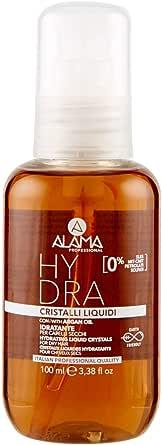 Alama Professional Hydra Cristalli Liquidi Idratanti per Capelli Secchi, Ambra, 100ml