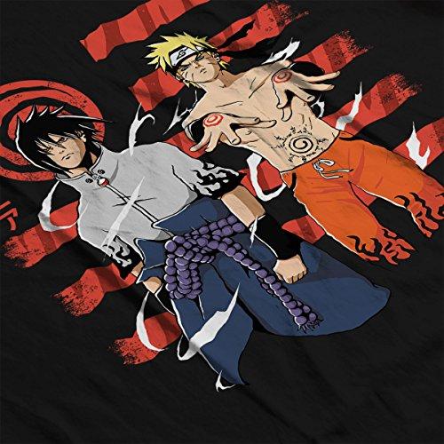 Chakrania Sasuke Naruto Women's Vest Black