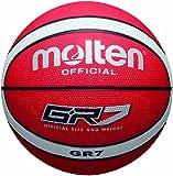 Molten Basketball, rot/weiß, 7, BGR7-RW