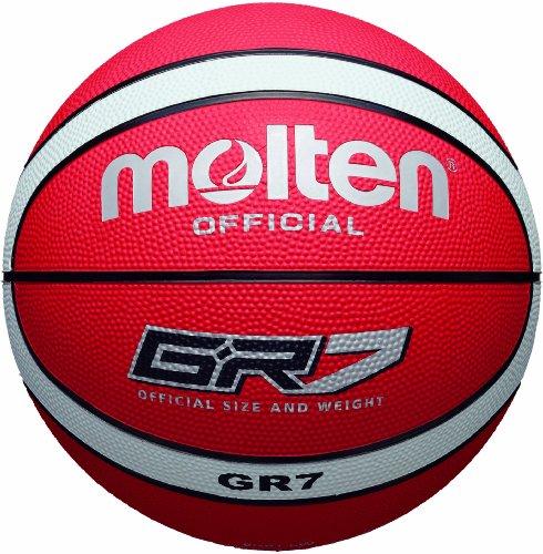 Molten Basketball - rot/weiß - Größe 7 - BGR7-RW