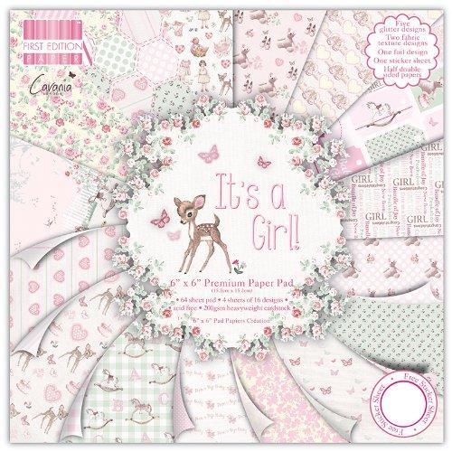 Girl Premium Paper Pad 6