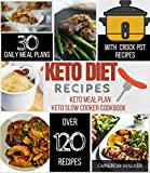 KETO DIET RECIPES: KETO MEAL PLAN, KETO SLOW COOKER