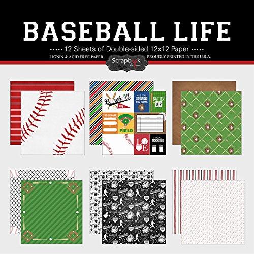 Scrapbook Customs Scrapbook-Kit mit Motiv Baseball Life -