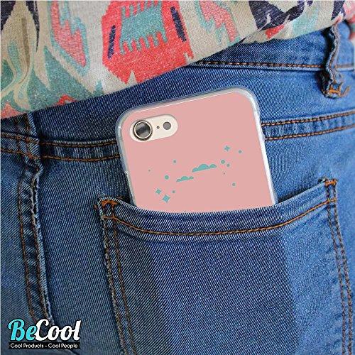 BeCool®- Coque Etui Housse en GEL Flex Silicone TPU Iphone 8, Carcasse TPU fabriquée avec la meilleure Silicone, protège et s'adapte a la perfection a ton Smartphone et avec notre design exclusif. Tu  L1186