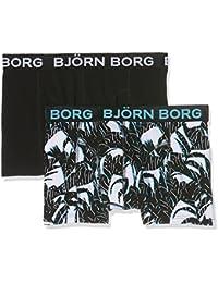 Björn Borg 2p Short Shorts Bb Tropical, Boxer Homme
