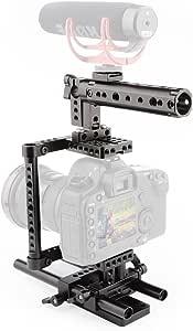Camvate Kamera Käfig Rig Ein Top Griff Stativanschluss Kamera