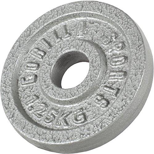 Gorilla Sports Hantelscheiben Gusseisen, 1.25 kg, 10000538;425