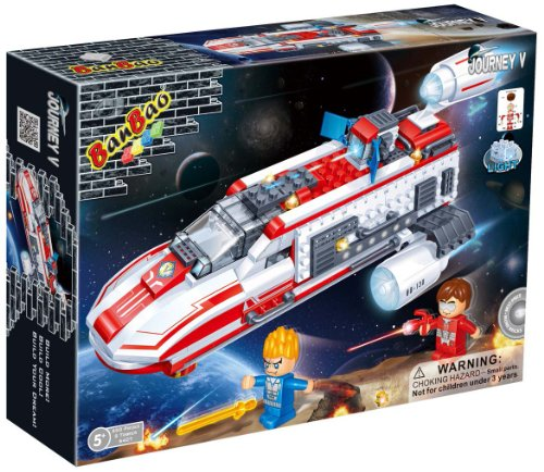 Boys-Boy-Children-Child-Kids-Educational-Top-Selling-Toys-Games-BanBao-Building-Construction-Brick-Blocks-Science-Fiction-Spaceship-BB-130-Perfect-Fun-Present-Gift-Idea-for-Birthday-Christmas-Xmas-Sto