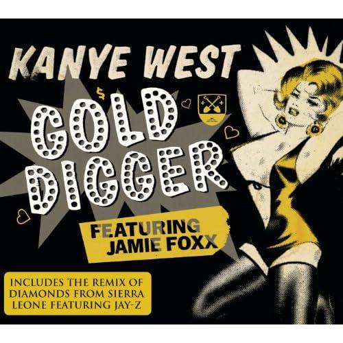 Gold Digger Album Version Explicit Feat Jamie Foxx Explicit Kanye West Amazoncouk