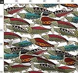 ZUNTO alaska angeln Haken Selbstklebend Bad und Küche Handtuchhalter Kleiderhaken Ohne Bohren 4 Stück