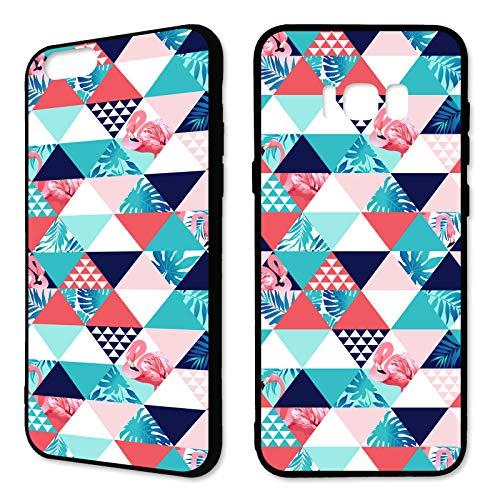 Premium Handyhülle 'Tropical' für Samsung Galaxy - Silikon   Tropen   Palmen   Urlaub   Strand   Ananas   Früchte   Flamingo, Handy:Samsung Galaxy S8, Hüllendesign:Design 5   Silikon Schwarz (Urlaub Flamingo)
