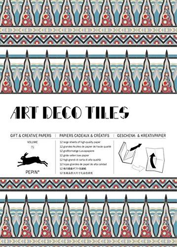 Art Deco Tiles: Geschenk- und Kreativpapierbuch Vol 71 (Gift & Creative Papers Vol 71) por Pepin van Roojen
