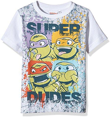 Teenage Mutant Ninja Turtles Ss T-shirt-T-shirt  Bambino    bianco 5 anni