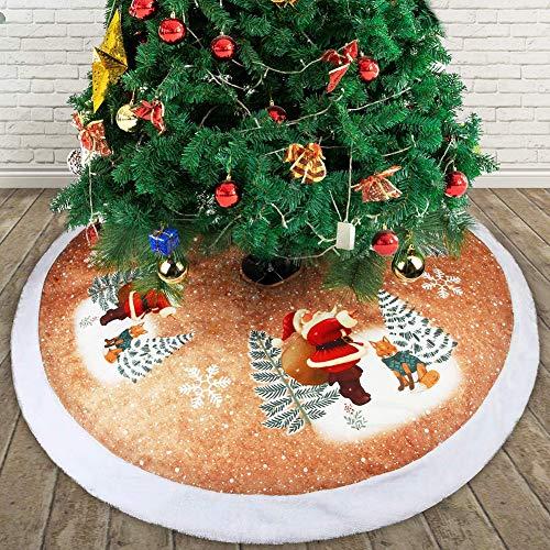 TAKEFUNS - Falda de árbol de Navidad