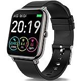 Motast Smartwatch Orologio Fitness Uomo Donna Smart Watch Contapassi Cardiofrequenzimetro da Polso, Smartband Sportivo Activi