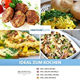 PROTEINVITAL Pures Hühner Volleipulver 100% natürlich aus Österreich – 1000g Bodenhaltung – Neutral & ohne Zusatzstoffe – Ei-Pulver – Backpulver – Laktosefrei Glutenfrei Süßstofffrei - 5