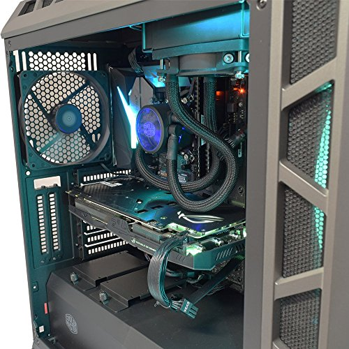 Cheap ADMI GAMING PC: Intel Core i5 8600k 4.3GHz 6 Core CPU, Gigabyte Z370-HD3 (M.2, USB 3.1, HDMI) Motherboard, GTX 1070 8GB Graphics Card, 8GB 2400MHz DDR4 RAM, 250GB SSD, H500P Gaming Case, Windows10 Online