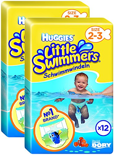 Huggies Little Swimmers Gr.2/3, 2er Pack (2 x 12 Windeln)