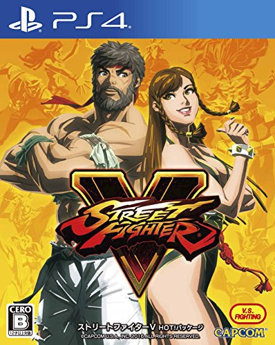 Street Fighter V - Hot Package [PS4][Importación Japonesa]