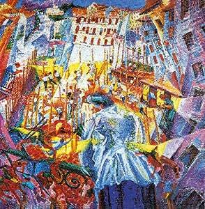"Reproduction d'Art: Umberto Boccioni ""La strada entra nella casa"" 33 x 34"