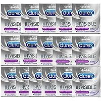 60 (20x3er) DUREX INVISIBLE EXTRA LUBRICATED Ultra dünne Kondome Präservative ! preisvergleich bei billige-tabletten.eu