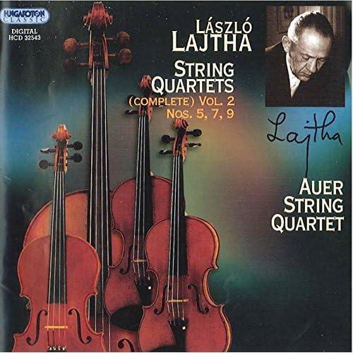 Lajtha, L.: String Quartets (Complete), Vol. 2 - Nos. 5, 7, 9