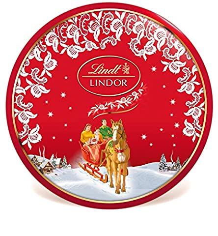 Lindt & Sprüngli Lindor Nostalgie Keksdose, 1er Pack (1 x 350 g)