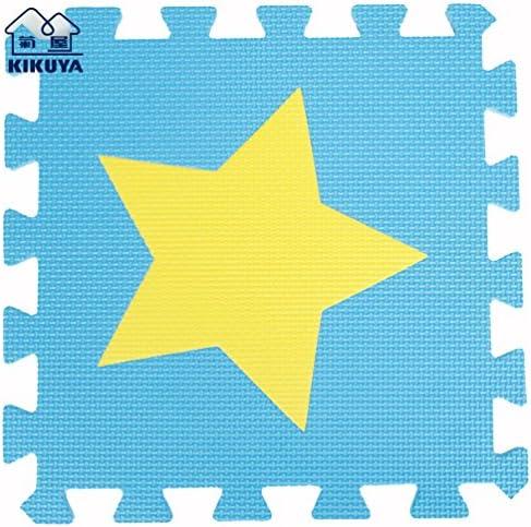 Hommes u Life Bleu et jaune jaune jaune étoiles 30 pièces Eco souple Tapis de jeu pour enfants Tapis de sol Tapis en mousse EVA | Emballage élégant Et Robuste  ec6c17
