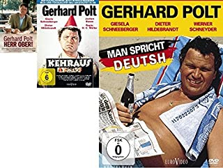 Gerhard Polt Klassiker - Herr Ober! , Man spricht Deutsh & Kehraus im Set - Deutsche Originalware [3 DVDs]
