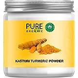 Pure Organic Sky Morn- Pure Kasturi Turmeric face pack for Skin Lightening & Tan Removal Curcuma Aromatica/Jangli Haldi/Kasth