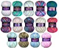 Marriner Mermaid Bumper Pack | Double Knit Yarn | 100% Acrylic | 5 x 100g Balls