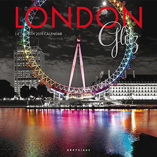 London Glitz – Glitzerndes London 2019 - 16-Monatskalender (Wall-Kalender)